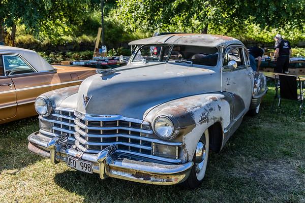 American Car Show Norrtälje 40th anniversary exhibition 2017 (HDR)