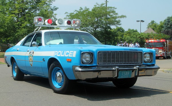 Vintage Police Cars and Ambulances