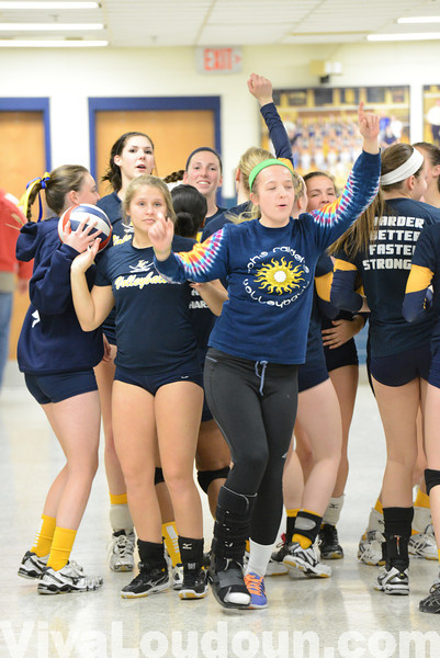 Volleyball: Fauquier at Loudoun County 11.12.13 (by Chas Sumser)