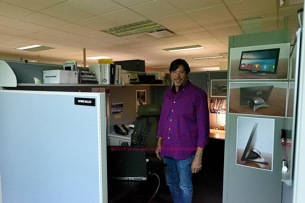 Photo of Howie Balch, Crestron industrial designer