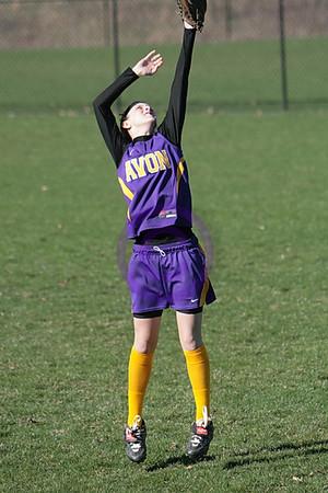 20080415_Oberlin vs Avon - Girls Varsity Softball