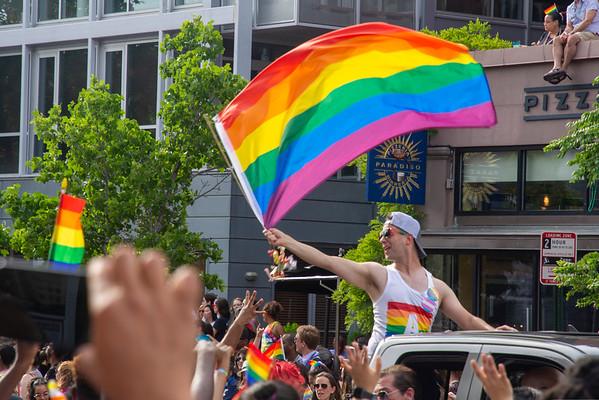 Pride Parade 2014,  2015, 2017, 2019