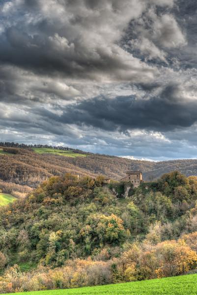 Castello di Borzano - Albinea, Reggio Emilia, Italy - November 16, 2014