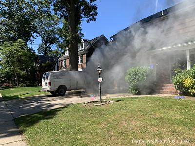 958 Primrose Lane Car Fire 6/24/21