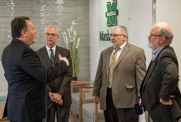 2017.11.21 - Congressman Mooney Visits Marshall Health - Teays Valley