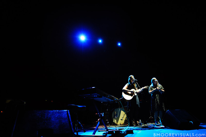 Lydia and Laura Rogers of The Secret Sisters perform on November 5, 2010 at Ruth Eckerd Hall in Clearwater, Florida