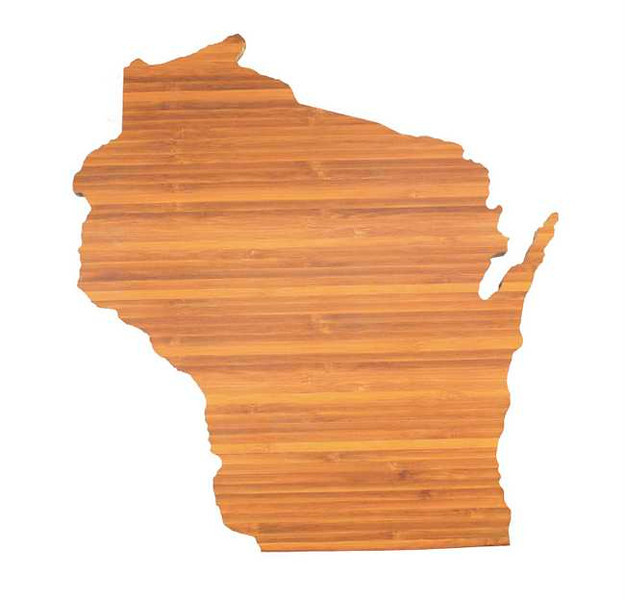 . Other brands of state cutting boards are available at Patina (Totally Bamboo, $19.95) and Cooks of Crocus Hill (Epicurean, $26) stores.