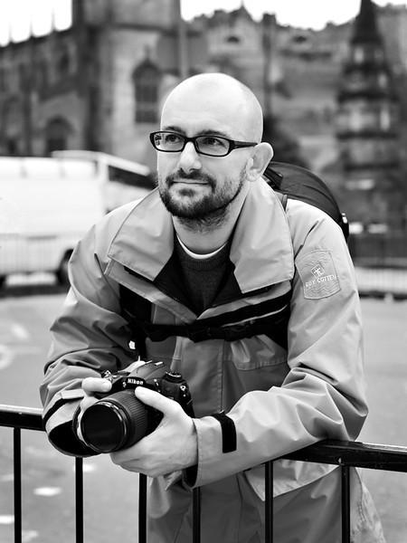 French Photographer - Edinburgh - Street Portrait