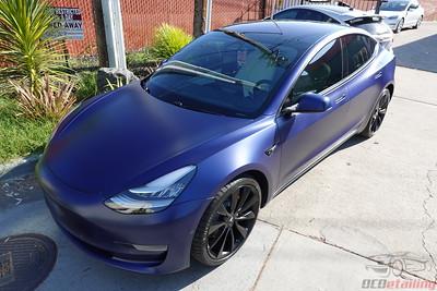 Tesla Model 3 - Stealth Deep Blue Metallic 4
