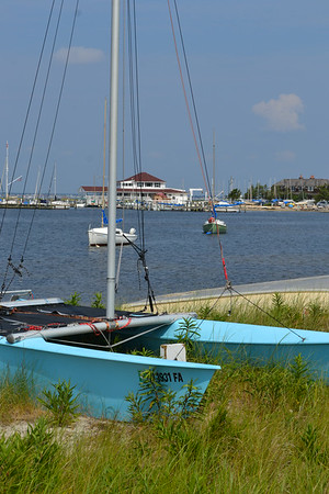 August 01, 2014 - Point Pleasant Inlet, Mantoloking and Lavalette.