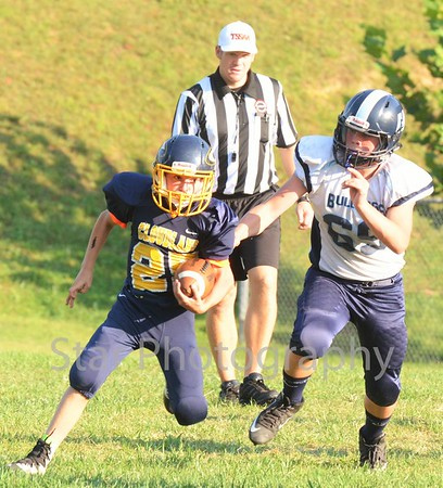 Jr. Bulldogs at Cloudland 090816