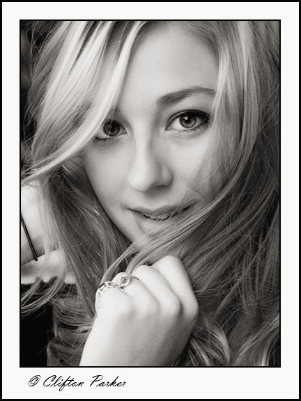 #21 'Amanda' by Clifton1055. 10/9/07.  Oylmpus E-1. Headshot from a recent portfolio shoot.