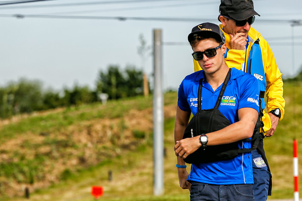 On the bank side - World Cup - Lee Valley - 2014