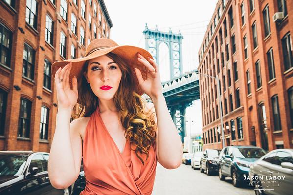 Saraphina Candid Summer Street Portrait