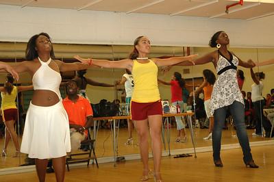 Fashionetta Practice at WSU Sept 23, 2007