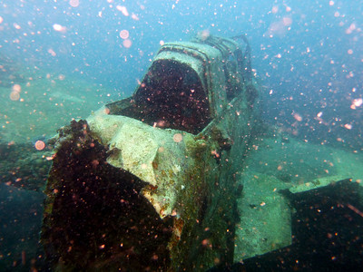 WWII Wrecks - Japanese Sea Plane (Palau 2013-01-14)