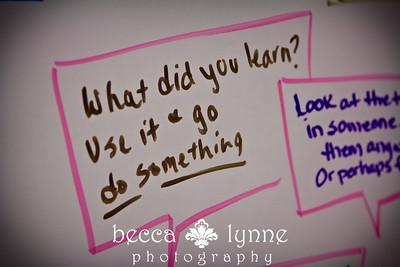 december 2. 2012 TEDxSMU speaker after party