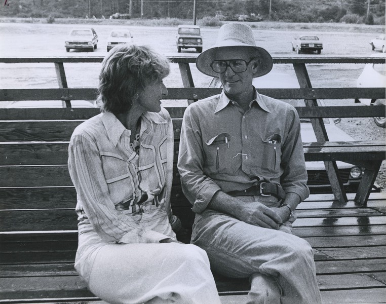 Co-founders Diana and Blair Fuller - 1978