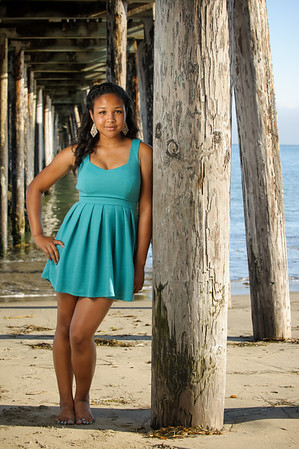 Mileena (High School Senior Portrait Photography, Capitola Beach, California)