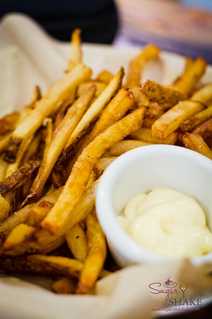 Leoda's Hand-Cut Fries with Garlic Aioli. © 2012 Sugar + Shake