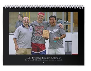 2017 Brooklyn Dodgers Calendar (photos from LASNAI2016)
