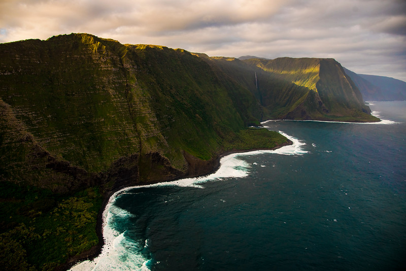 Beautiful Molokai coast, Hawaii