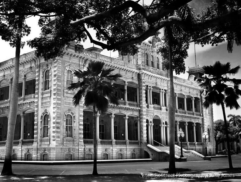 'Iolani Palace - Honolulu, Oahu, Hawaii
