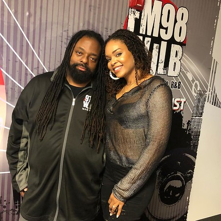 97.9 WJLB - October 26, 2018 in Detroit, MI