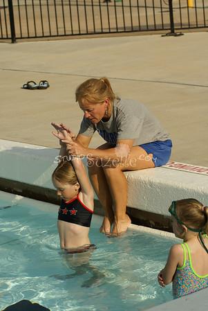 2008, 05-15 Swim Team 1st and 2nd Practice