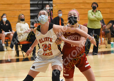Oliver Ames - North Attleboro Girls Basketball 02-10-21