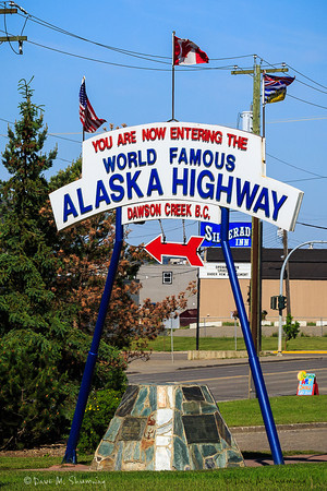 Banff, Kananaskis, Stone Mountain and the Alaska Highway June & August, 2012