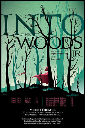 Delta Youth Theatre Into the Woods Jr. 2016