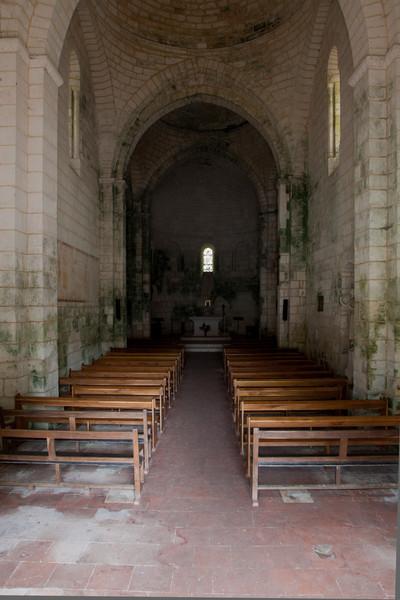 Charente, Bourg ChurchSaintes, Saint-Eutrope Church Crypt