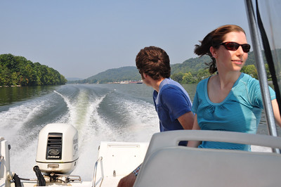 Kanawha River Boating