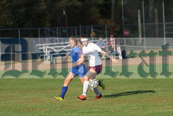 Manor vs SS Seward girls soccer