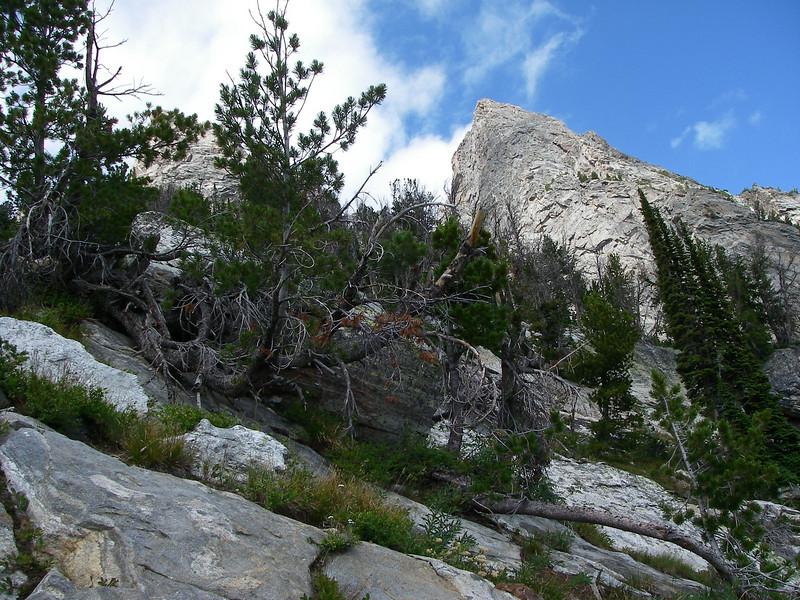 It was a pretty steep trail.