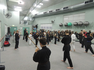 Combat Self Defence Stick Fighting, Kata and Pad Work Course November 2016