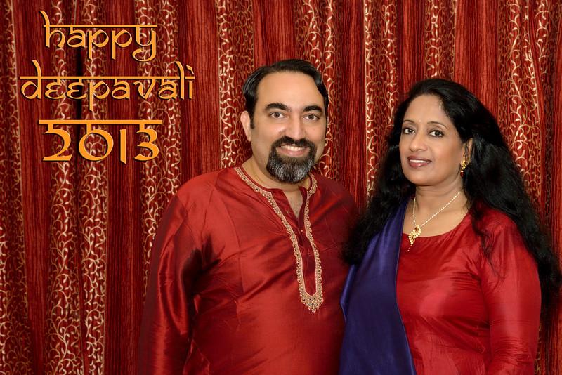 Happy Diwali greetings from Arundhathi and Suchit Nanda, 2013.