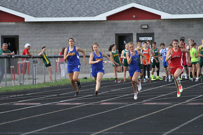 2013 MHSAA Highland Conference Girls 100 Meter