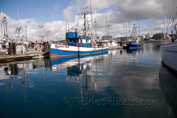 Victoria's Fisherman's Wharf