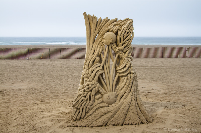 """Entangled"", sculpted by Guy-Oliver Deveau"