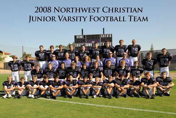 2008 - Football - JV Team Pics