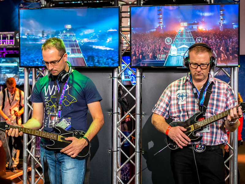 Guitar Hero at Gamescom 2015