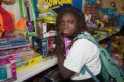 December 17, 2013 WQAM Toy Drive at Lester White Boys and Girls Club of Broward County