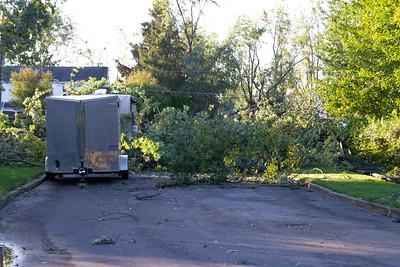 EF2 Tornado from Ida hits Maple Glen, PA