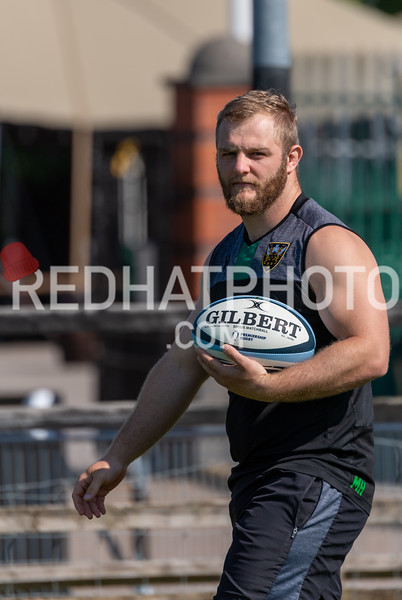 Northampton Saints training, Franklin's Gardens, 23 June 2020