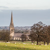 Bodelwyddan Church and Fields, Wales