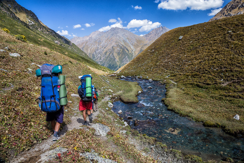 Hiking in Kyrgyzstan