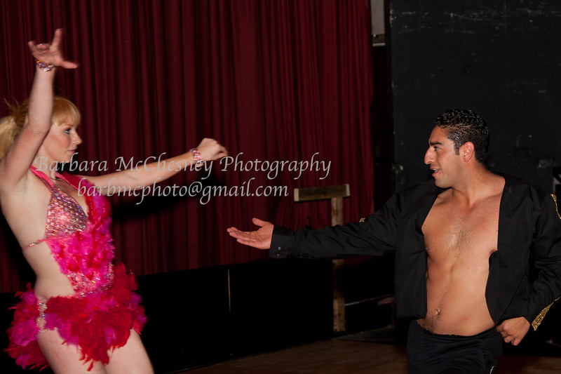 DWTS Rehearsal at the Raven 2012