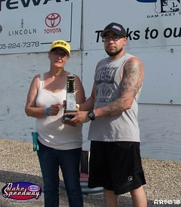 2018 - Oahe Speedway Winners Circle - 05-26-18